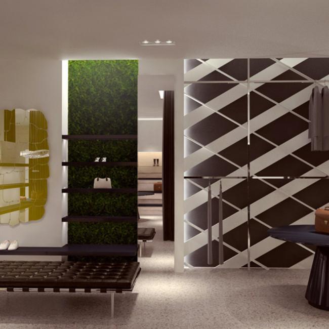 Progetto di interni negozio